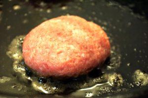 ハンバーグの焼き方