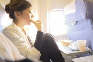 機内の過ごし方